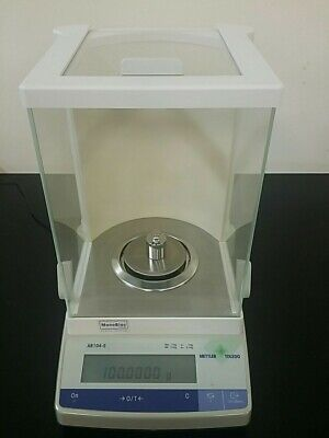 Mettler Ab104-s 110g0.1mg Analytical Balance