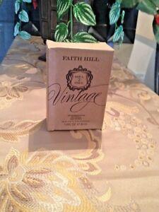 FAITH HILL VINTAGE SOUL 2 SOUL EDT SPRAY PERFUME WOMEN 1.0 OZ NEW IN TESTER BOX