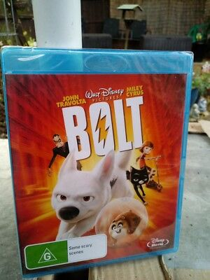 DISNEYS BOLT BLU RAY NEW /SEALED  REGION FREE CHEAPEST ON EBAY