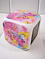 My Little Pony Colour LED Digital Alarm Clock Thermometer Date Time Night Light