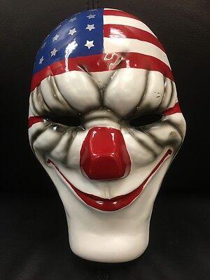 UK Dallas Payday 2 The Heist Erwachsene Maske Kostüm Halloween Kostüm Cosplay