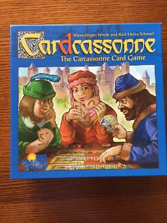 Carcassonne - card & strategy board game