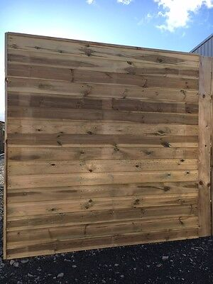 Wooden Fence Panels, 6ft x 6ft -1.83m x 1.65 Garden tongue groove square treated