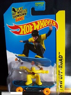 HOT WHEELS 2014 #123 -1 SKATE PUNK AMER OFF ROAD