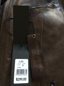 Authentic Politix Leather Jacket Strathfield Strathfield Area Preview