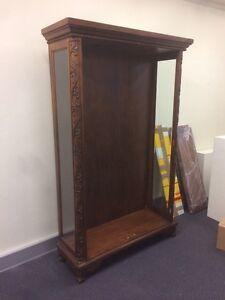 Antique solid wood bookcase Rozelle Leichhardt Area Preview