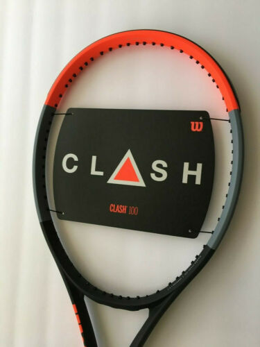 "Wilson Clash 100 Tennis Racquet - Grip 4 3/8"" - NEW - FREE SHIPPING"