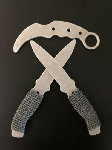 Aluminum Training Knives and Karambit