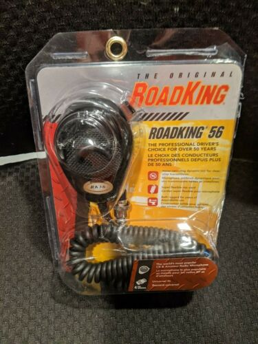RoadKing RK564P 4-Pin Dynamic Noise Canceling CB Microphone Open Packaging