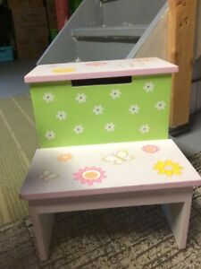 Wooden step stool- in Newmarket