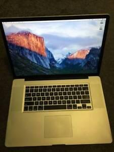 Macbook Pro 17inch, 2.53 Ghz i5, 250GB SSD+500GB HD, 8GB RAM