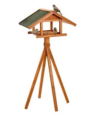 Vogelhaus mit Ständer groß 66 x 47 x 144 cm Naturholz Sonderpreis Karlie