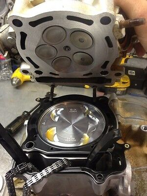 Yamaha YFZ 450 Engine Rebuild Service with new cases & cylinder - Parts / Labor