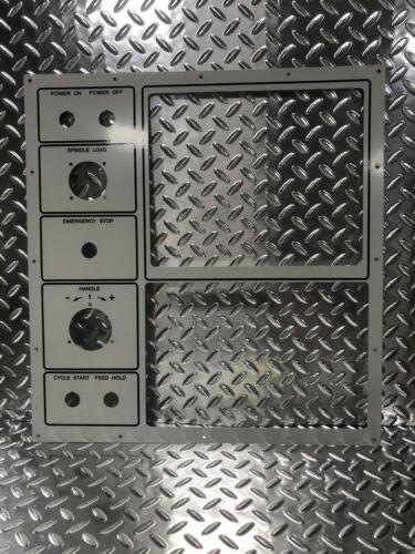 White CRT Bezel -CRT Sticks Through Control For Your Haas CNC