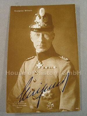 70690: PREUßEN, Kronprinz Wilhelm von, Piek Photopostkarte, datiert Mai 1930