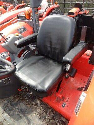 Kubota Tractor M5040m6040m7040m8540m9540 Waterproof Black Vinyl Seat Cover