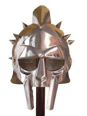 Halloween Costumes Cosplay Men Props Party Dress Fancy Maximus Gladiator Helmet