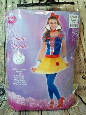 Snow White Junior SMALL 3-5 Costume Disney Halloween - Disney Halloween Outfits