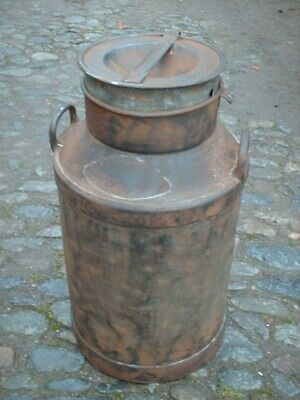 ANTIQUE RUSTIC MILK CHURN