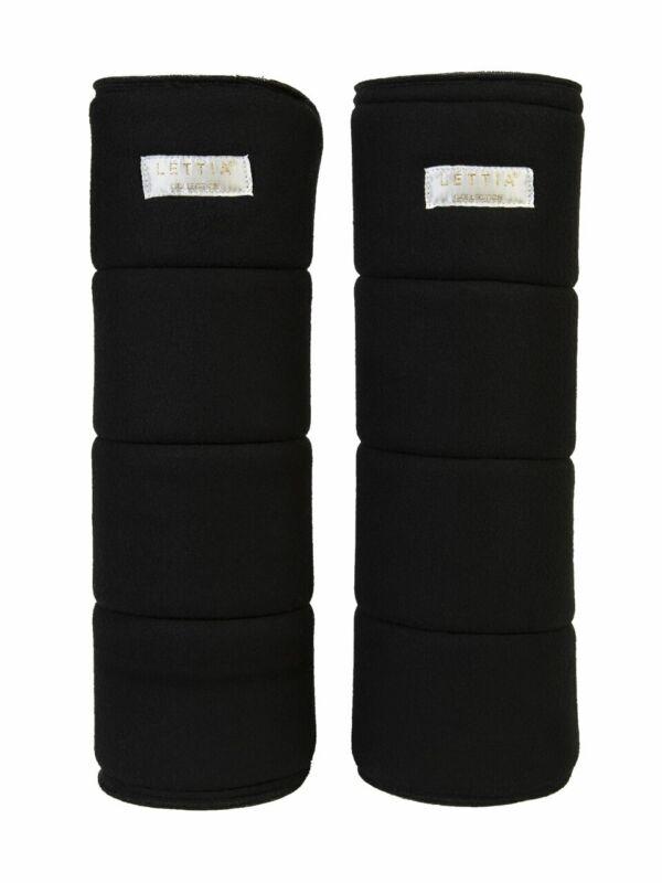 Lettia No-Bow Wraps - Black