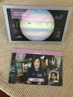 American Girl Luciana Nasa Space Monitor Tv Screen Frm Mars Habitat Set 18  Doll