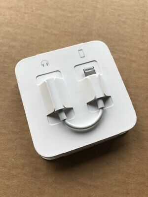 Genuine Apple iPhone EarPod/Headphone Lightning to 3.5mm Jack Adapter/Adaptors
