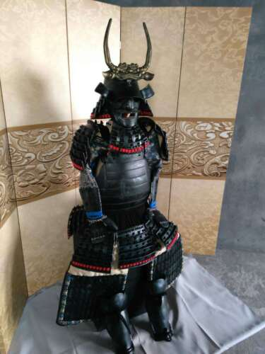 Replica of Wearable Hand Made Japanese Samurai Armor Yoroi Life Size Suit TYJ