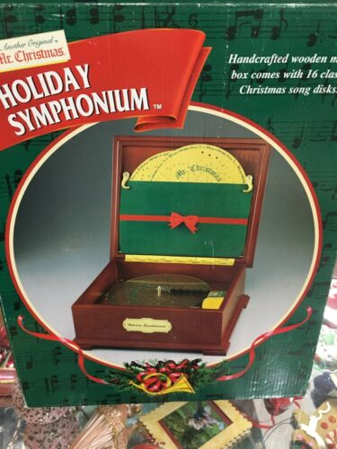 Mr. Christmas Holiday Symposium - Plays Different Tunes - Used