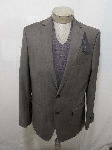 UPC 776059000901 product image for Marc Anthony Mens 100% Wool 2 Button Taupe Brown Beige Slim Fit 42 L Coat Jacket | upcitemdb.com