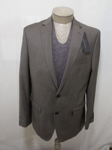 UPC 776059000901 product image for Marc Anthony Mens 100% Wool 2 Button Taupe Brown Beige Slim Fit 42 L Coat Jacket   upcitemdb.com