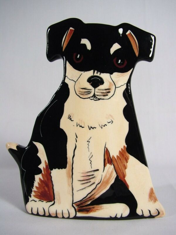 Dogs by Nina Lyman Vase Planter Puppy Dog Mixed Breed Non Breed Specific