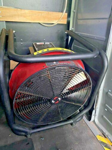 Super vac Smoke Removal Fan Fire Fighter Aluminum Frame Valor Electric PPV Fan