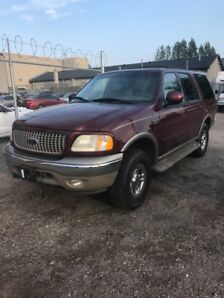 2001 Ford Expedition Eddie Bauer 4X4 PRICE DROPPED  $2500 as is