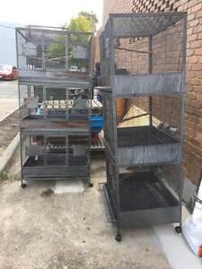 Heavy duty steel gauge bird cages Airport West Moonee Valley Preview