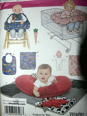 Simplicity Designed by Teri Pattern 4225 Baby Pillow Cover,