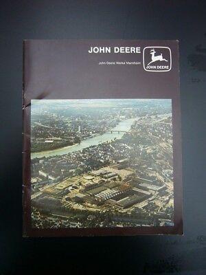 Werbebroschüre - John Deere Mannheim - 1979