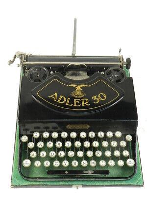 MAQUINA DE ESCRIBIR ADLER 30 AÑO 1929 TYPEWRITER SCHREIBMASCHINE