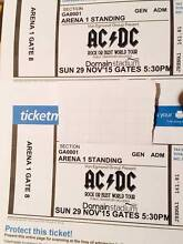 2 x AC/DC Arena 1 Perth Sunday 29th Duncraig Joondalup Area Preview