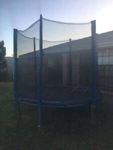 8 FOOT TRAMPOLINE WITH SAFETY NET Mahogany Creek Mundaring Area Preview