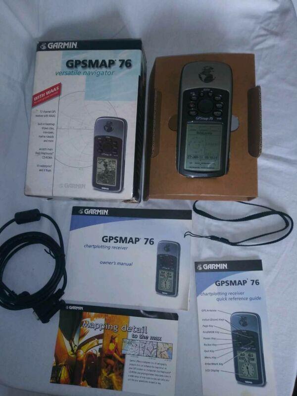 Gpsmap 76 Versatile Navigator