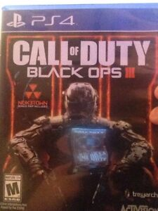Black ops 3 for ps4 Cambridge Kitchener Area image 1