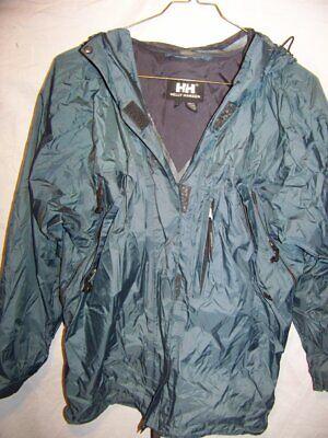 Helly Hansen Packable Waterproof Rain Jacket, Men's Medium
