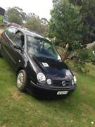 2004 Volkswagen Polo Hatchback colour black Gymea Sutherland Area Preview