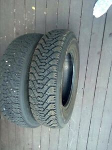 Winter tires 155 80R13 in very good condition