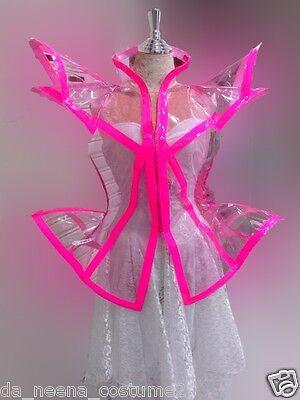 Da NeeNa C0006 Crystalline Beyonce Dance Showgirl Lady Gaga Dress Jacket XS - XL