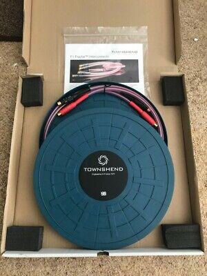 "Townshend Audio F1 Fractal 1M RCA or XLR Interconnects ""HiFi reviewers choice"""