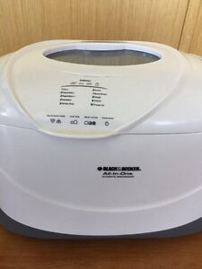 black and decker all in one automatic breadmaker