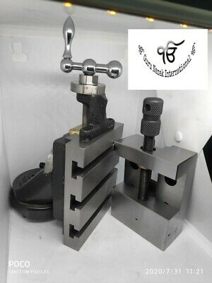Lathe Vertical Milling Slide - Swivel Base 4 X 5 With 88mm Vice
