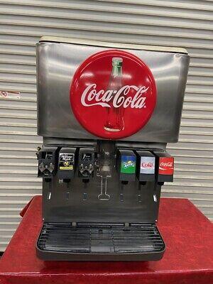 6 Head Flavor Soda Fountain Ice Storage Dispenser 115v Cornelius Df150bc 3933