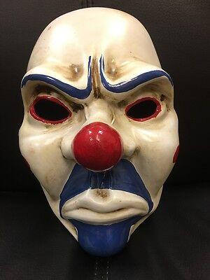 UK Joker Batman Bank Räuber Dark Knight Film Maske Halloween Kostüm